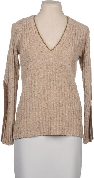 Stefanel Long Sleeve Sweater - Lyst