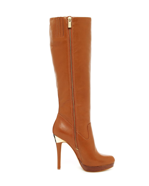 d4f1d695f284 Lyst - Michael Kors York Knee Boot in Brown