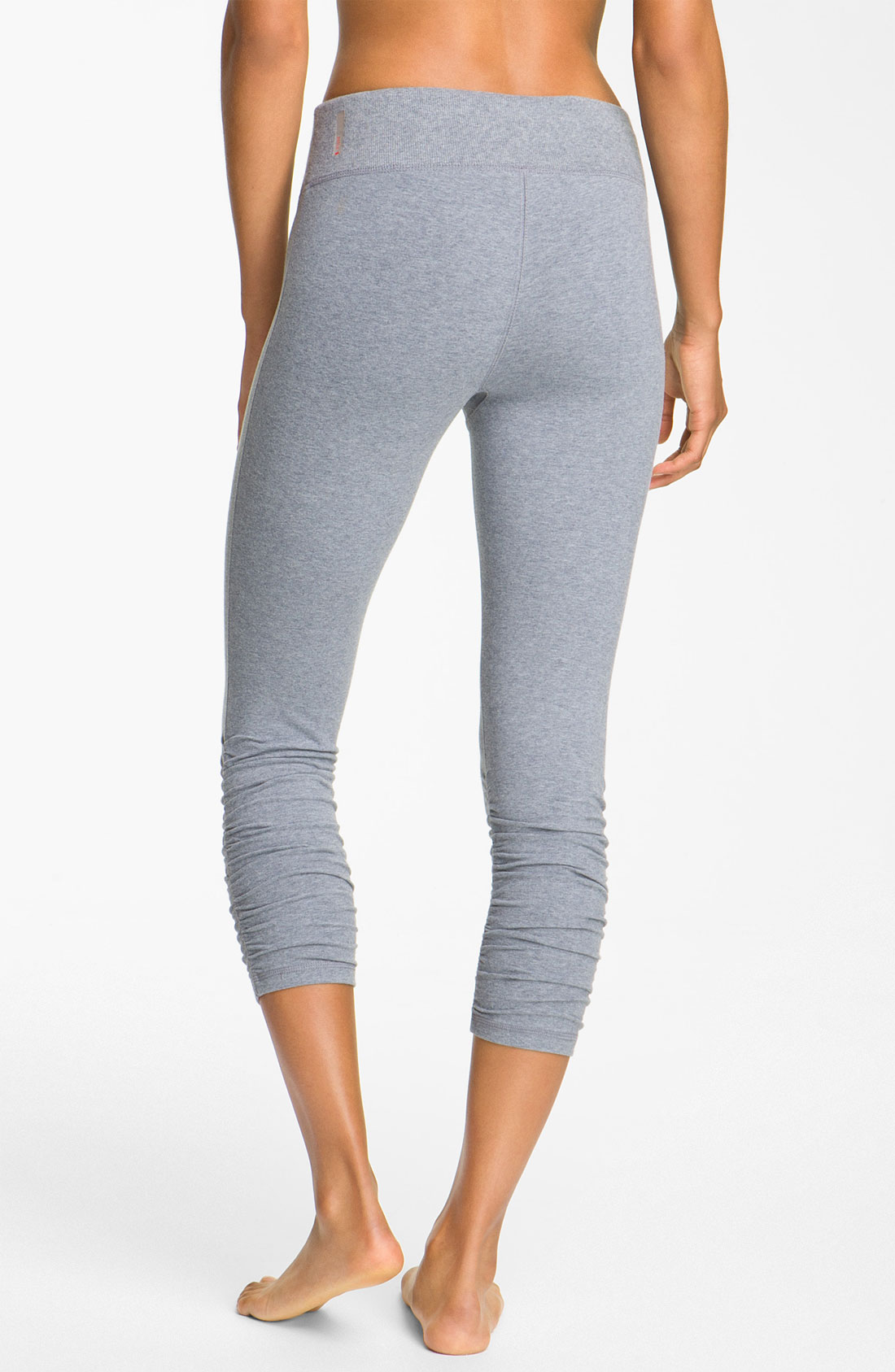 Ruched Capri Leggings