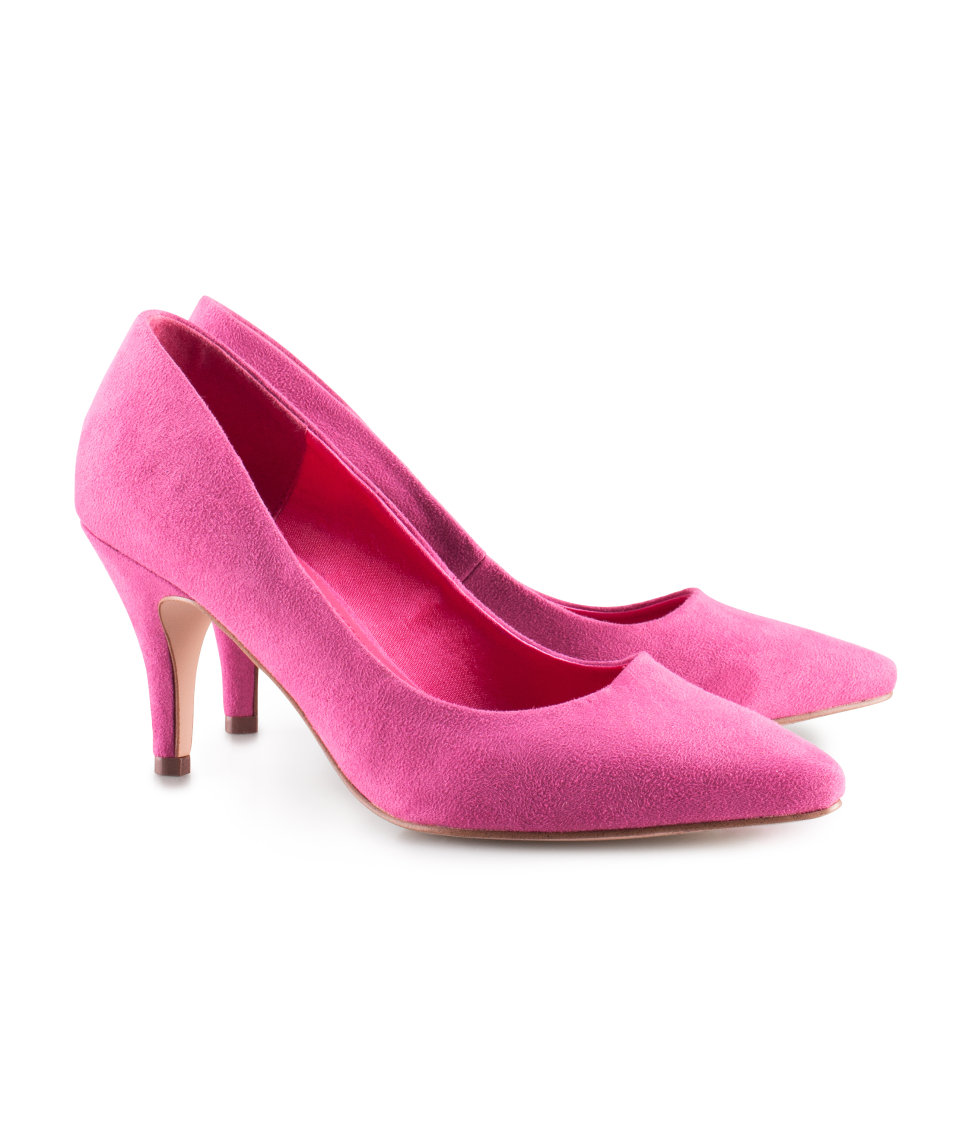 Lyst H Amp M Shoes In Pink