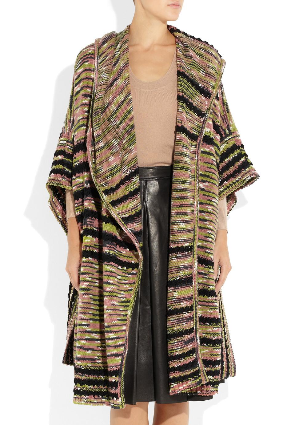 Lyst Missoni Mantella Wool Wrap Cape