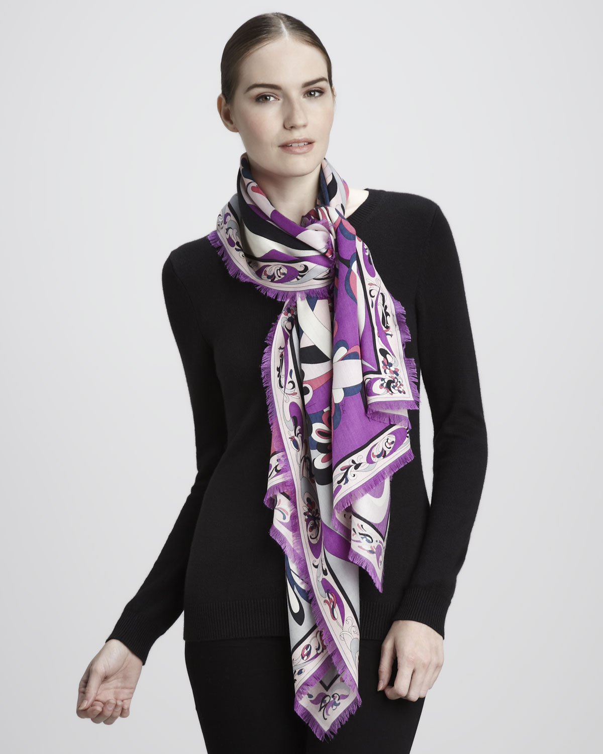 How to emilio wear pucci scarf