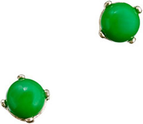 J.crew Bubble Earrings in Green (kelly green)
