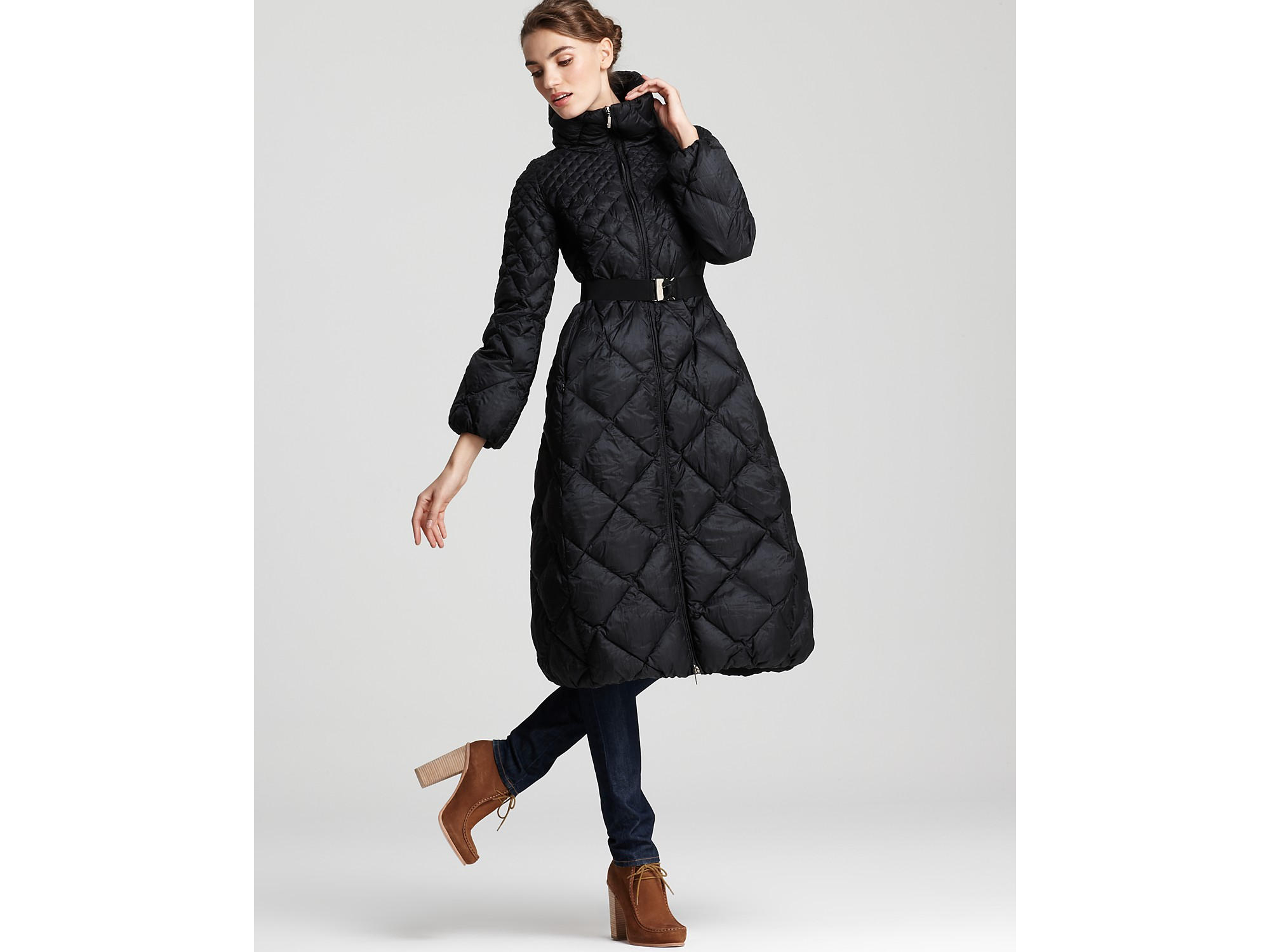 moncler down coat long