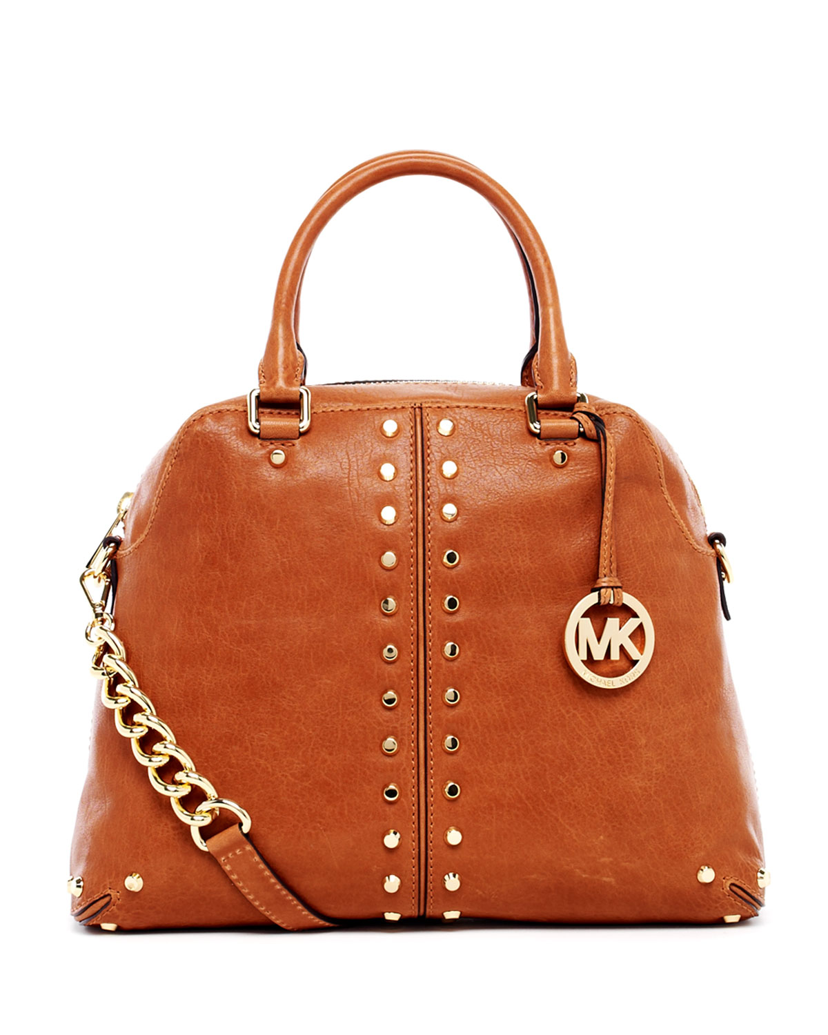 e60a64d32fef ... coupon code michael michael kors uptown astor large satchel in brown  lyst 437a4 32445