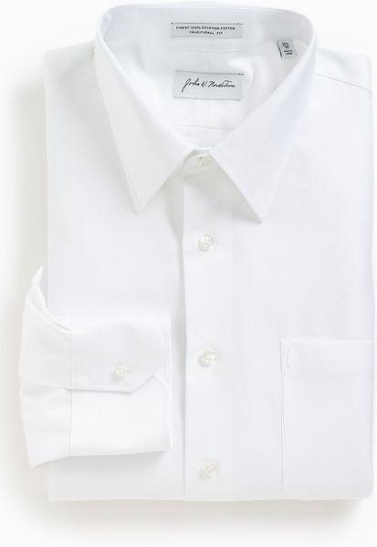 john-w-nordstrom-white-john-w-nordstrom-traditional-fit-dress-shirt ...