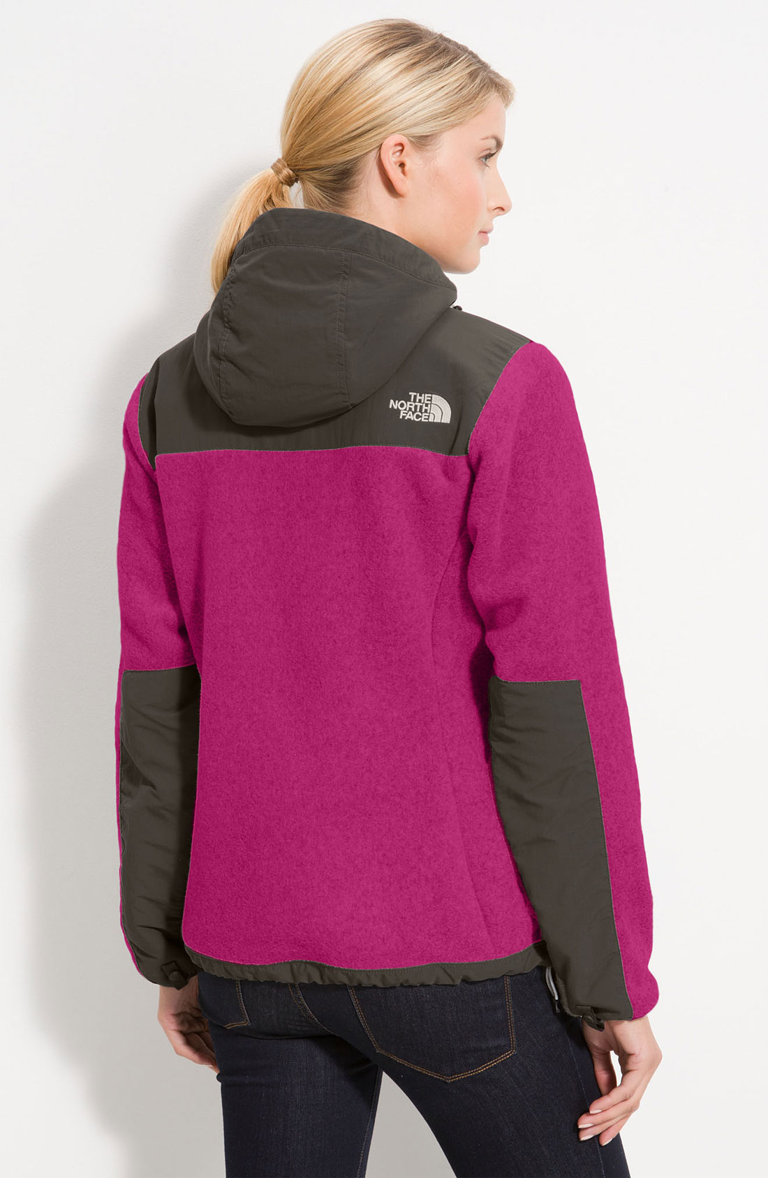 The North Face Denali Hooded Jacket In Black Lyst
