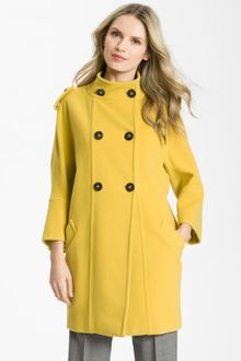 Weekend By Maxmara Double Breasted Wool Coat - Lyst