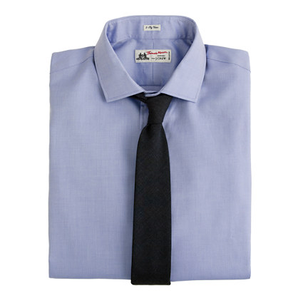 Thomas Mason Fabric Royal Oxford Spreadcollar Dress