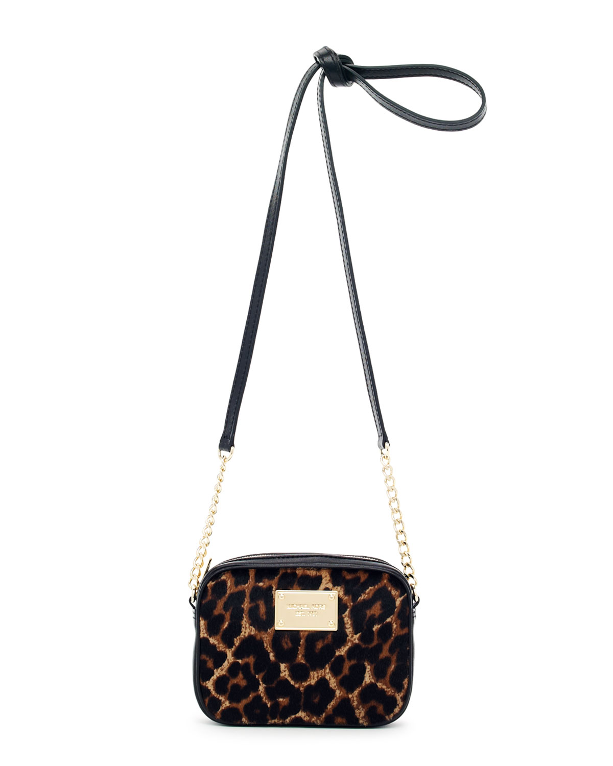 f216f48a9bb3 Michael Kors Jet Set Crossbody Leopard - Best Image Of Leopard ...