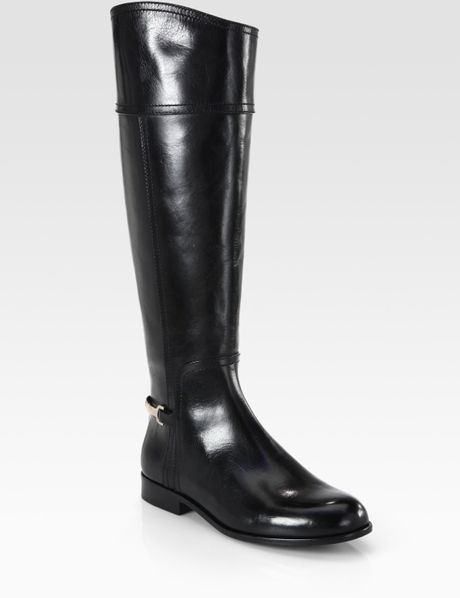 Free shipping and returns on tory burch 'marlene' leather riding boot
