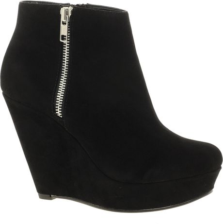 kg by kurt geiger miss kg felicity wedge ankle boots in