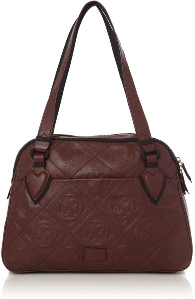 Radley Burnt Oak Embossed Large Shoulder Bag 19