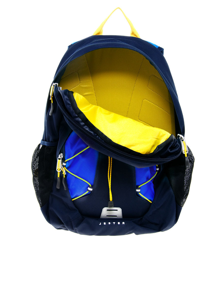 76a1bfd66 North Face Backpack Blue And Yellow- Fenix Toulouse Handball