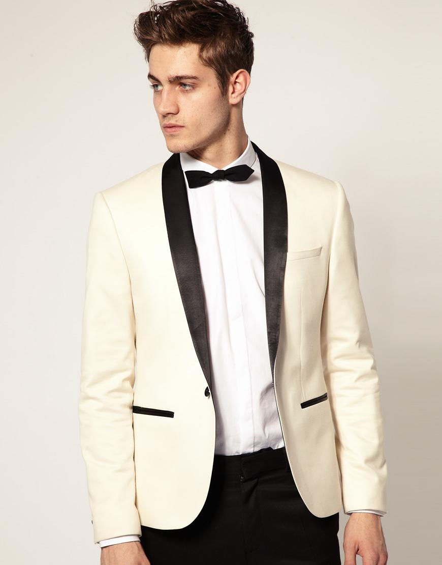 Lyst - Asos Asos Slim Fit Tuxedo Suit Jacket for Men