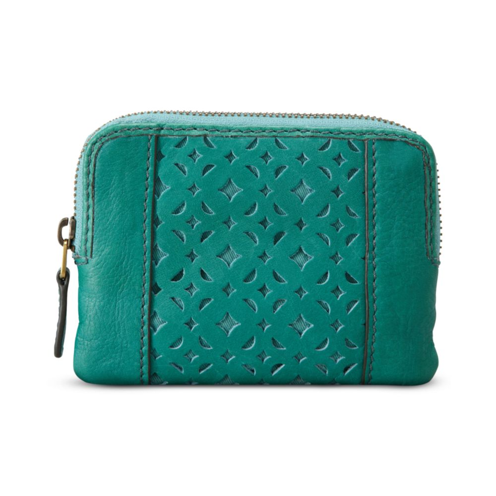 blue coin purse