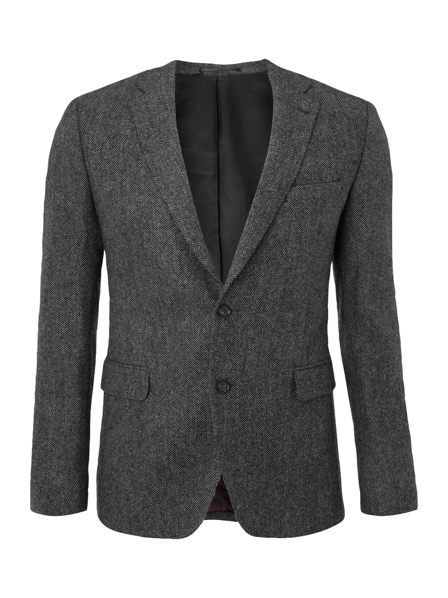 Gant Tweed Jacket In Gray For Men Grey Lyst