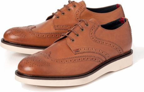 tommy hilfiger anderson 8a casual shoes in brown for men