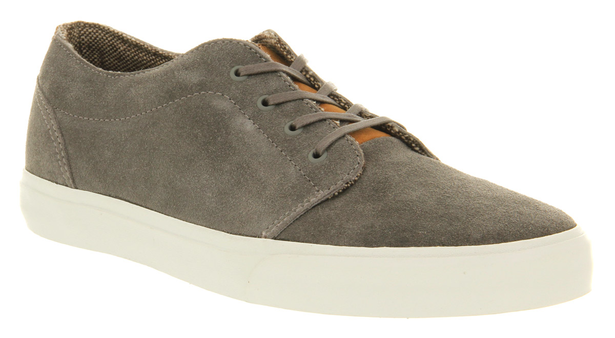 f44237a22b Lyst - Vans 106 Vulcanized Ca Suede Charcoal Grey in Gray for Men