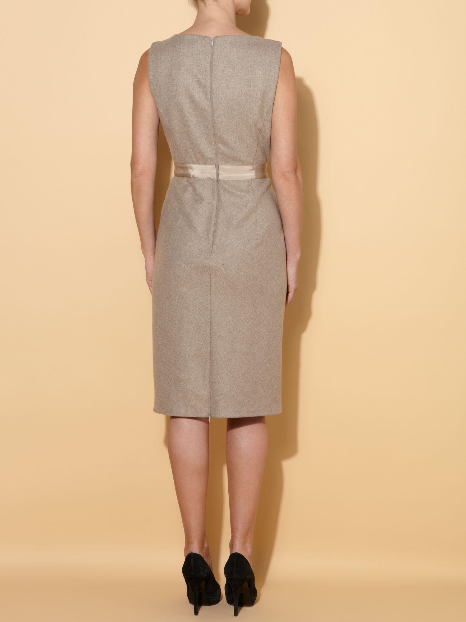 max mara studio sole sleeveless tunic dress with bow waist. Black Bedroom Furniture Sets. Home Design Ideas