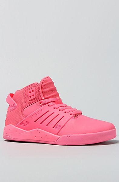 supra the skytop iii sneaker in pink in pink lyst