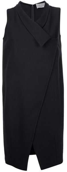 Gianluca Capannolo Wrapped Collar Dress - Lyst