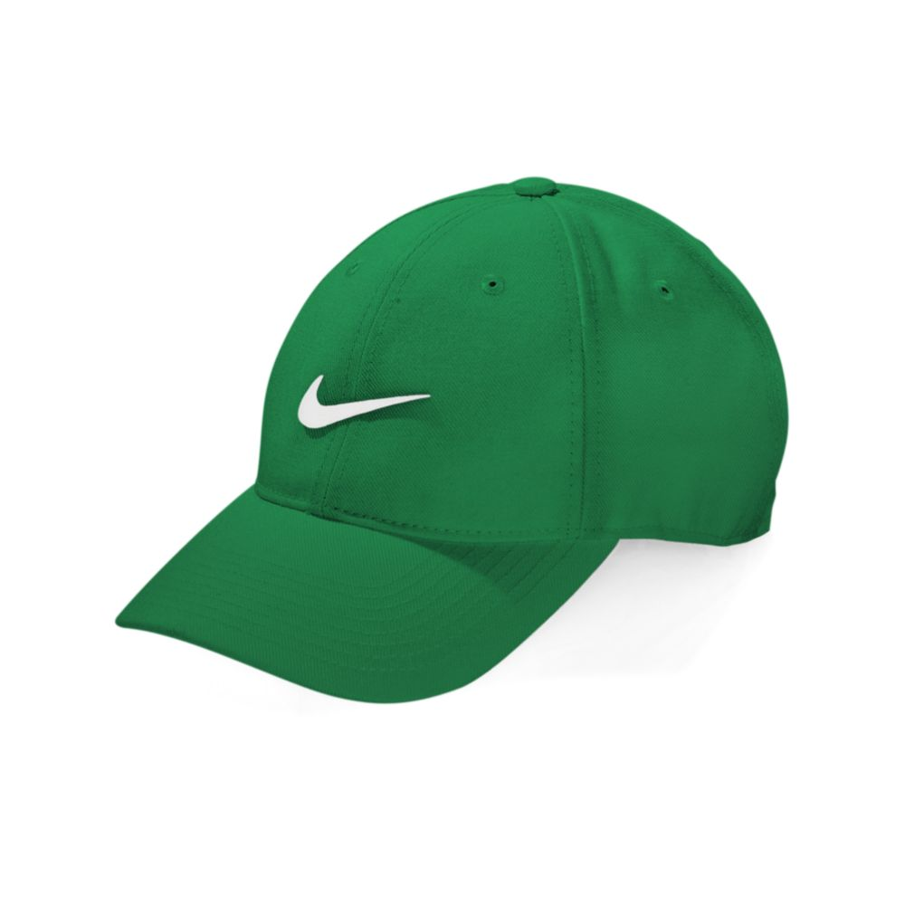 nike hat green dri fit