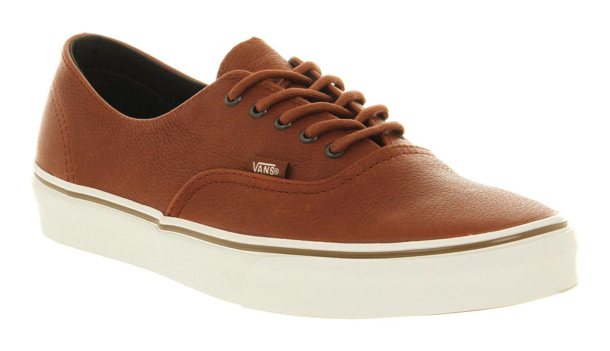 brown authentic vans