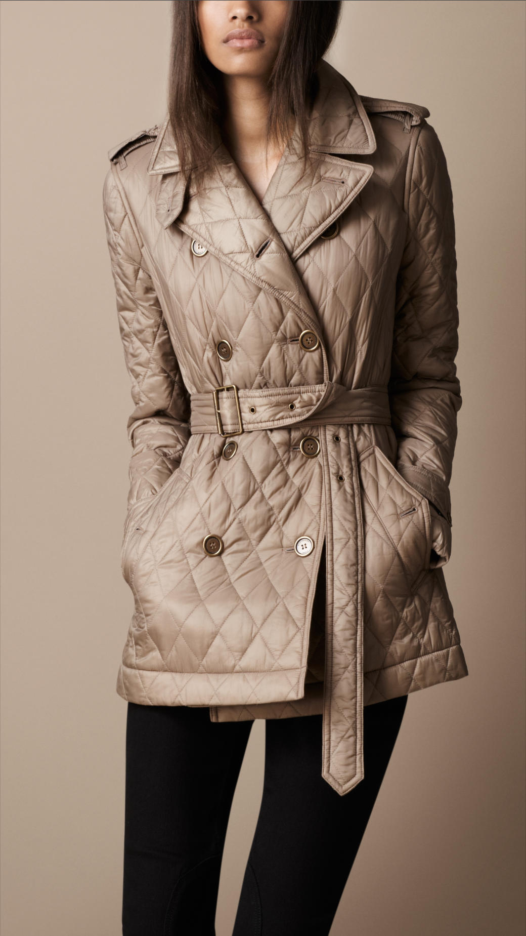 Burberry Women S Brit Diamond Quilted Jacket Best Jacket 2018