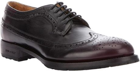 Dsquared² Laceup Brogue in Purple for Men (burgundy)