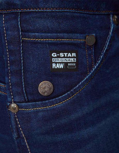 g star raw gstar arc 3d super skinny jeans in blue. Black Bedroom Furniture Sets. Home Design Ideas
