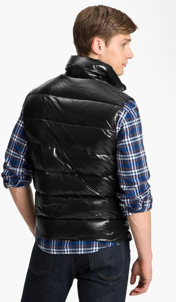 Moncler Tib Quilted Down Vest In Black For Men Lyst