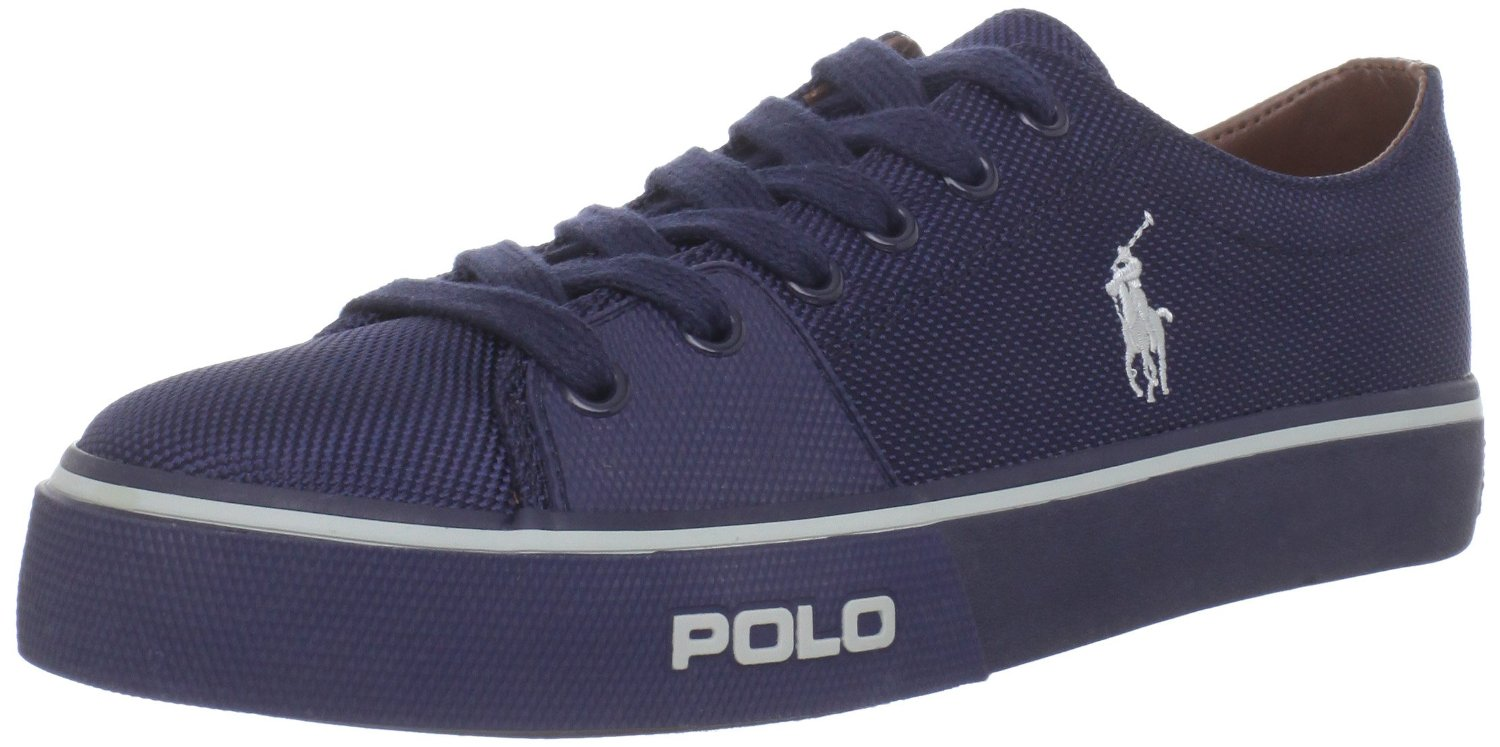 polo ralph lauren polo ralph lauren mens cantor low fashion sneaker in blue for men newport. Black Bedroom Furniture Sets. Home Design Ideas