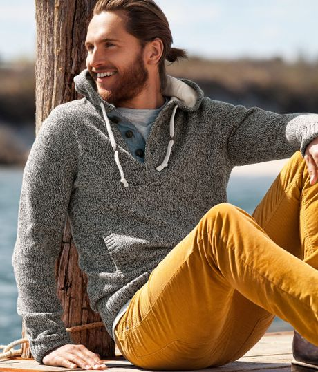H&m Hooded Jumper in Gray