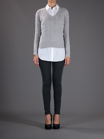 2623cceb95e63 Gallery. Previously sold at  Farfetch · Women s Cable Knit Jumpers ...