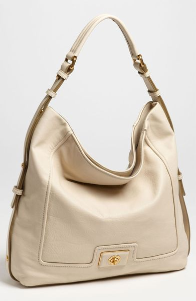 Marc By Marc Jacobs Revolution Hobo in Beige