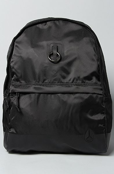 Nixon The Platform Backpack in Black Nylon in Black for Men