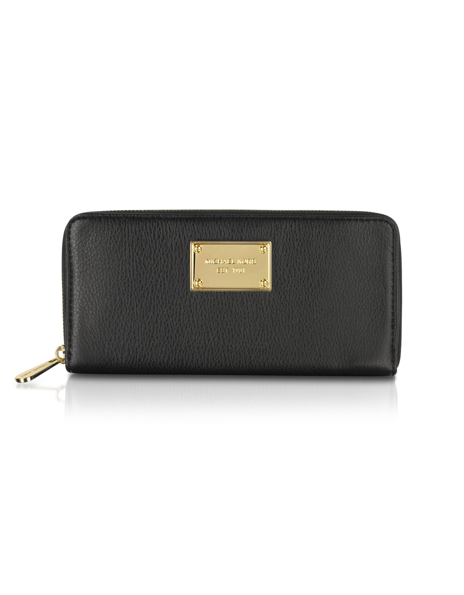 825ae496f9ab Lyst - Michael Kors Michael Jet Set Zip Around Continental Wallet in ...