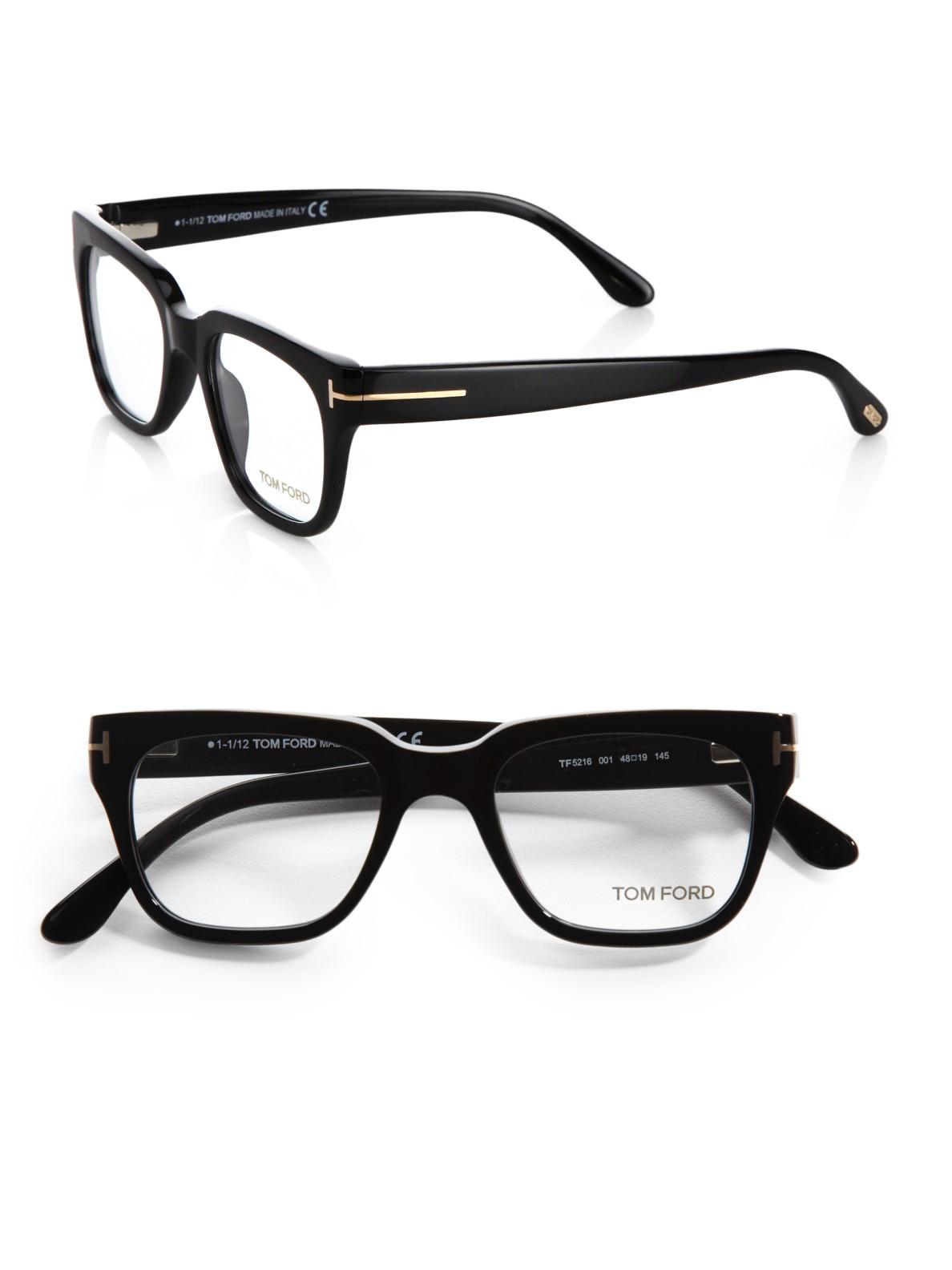 ecd8b2bcf483 Lyst - Tom Ford Plastic Optical Frames in Black for Men