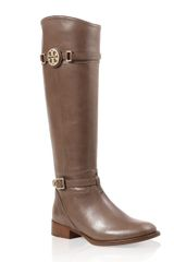 Tory Burch Calista Flat Riding Boot