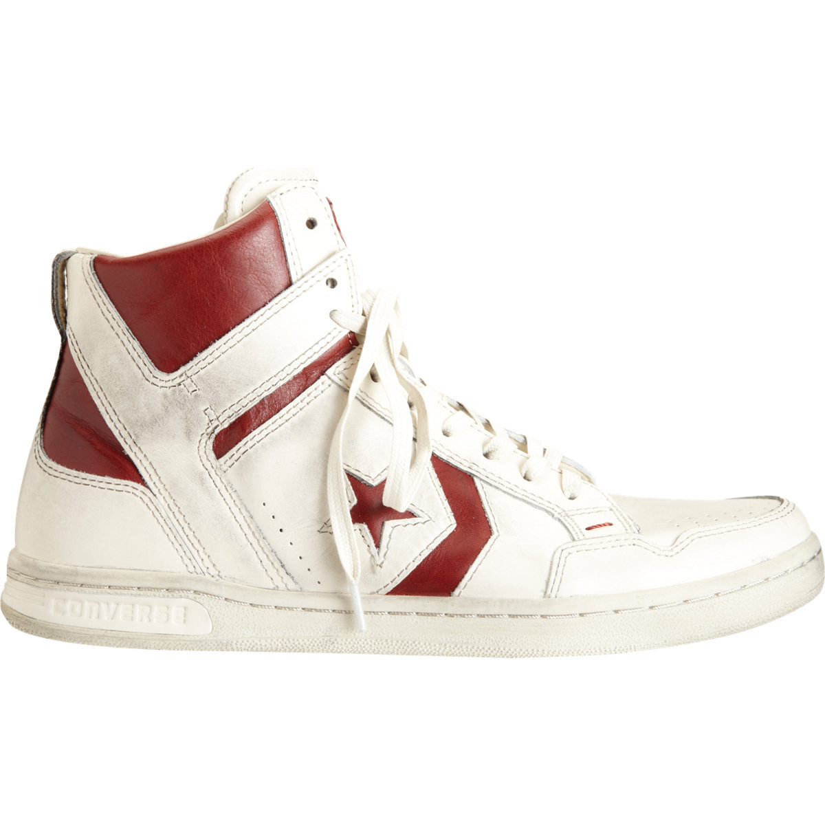 Converse Weapon Sneakers In White For Men Black