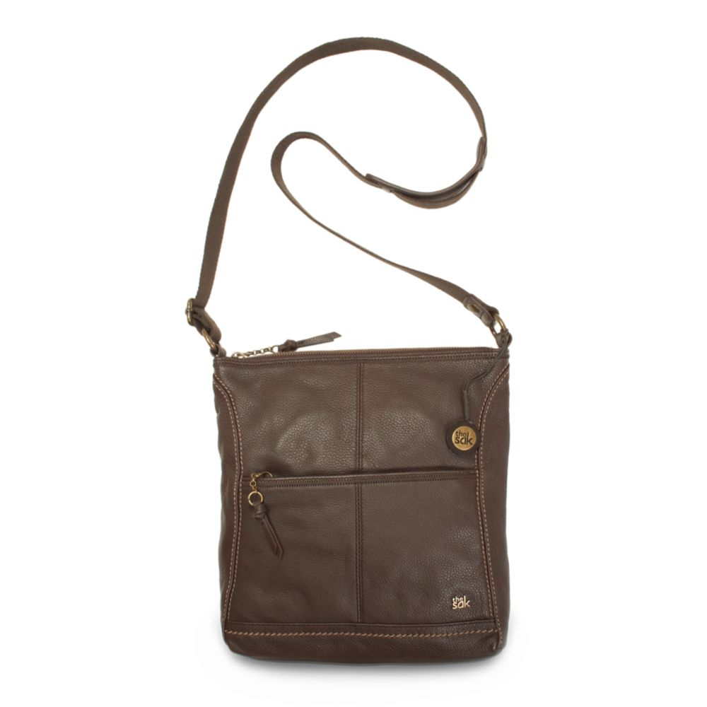 The Sak Iris Leather Crossbody Bag In Brown Lyst