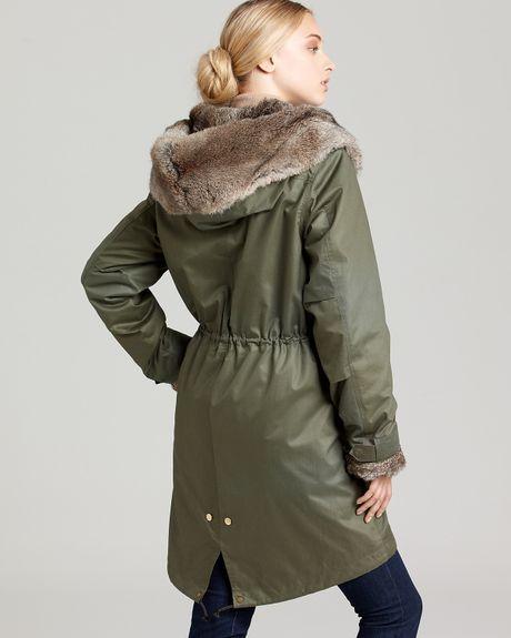 woolrich woolrich john rich bros eskimo jacket in green light army lyst. Black Bedroom Furniture Sets. Home Design Ideas
