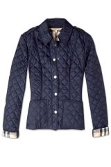 Burberry Brit Cropped Quilted Jacket