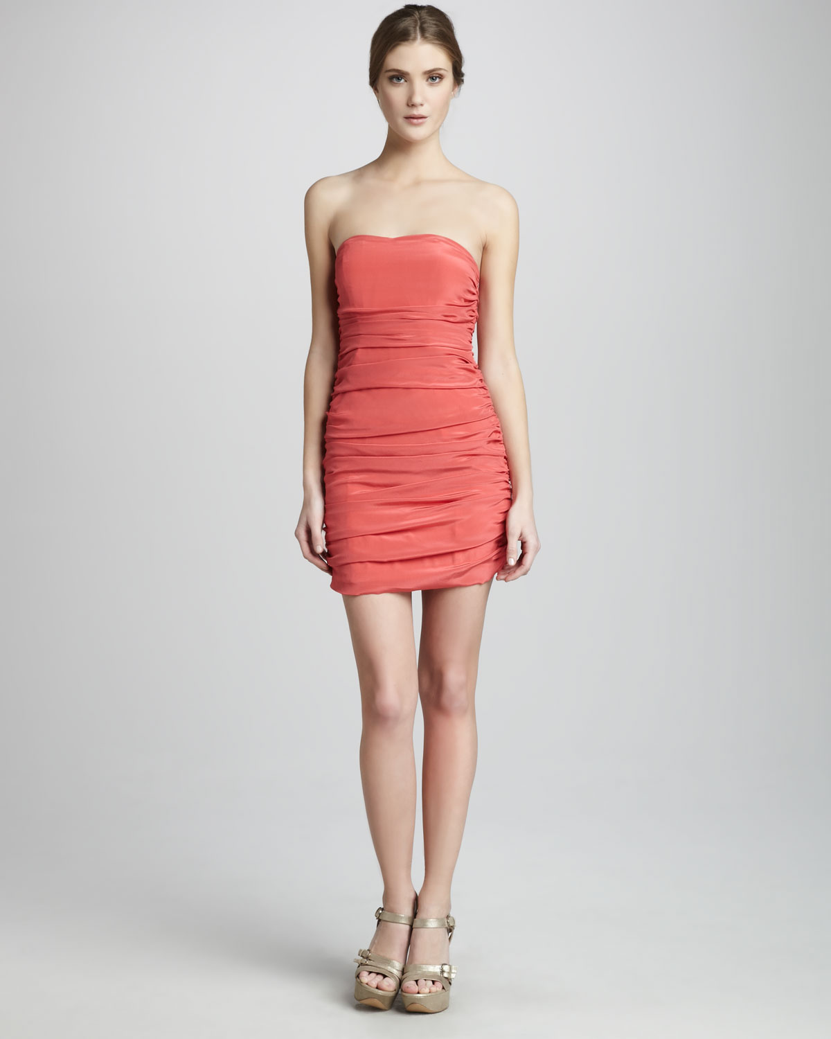 Jay godfrey Weldon Fitted Cocktail Dress in Pink  Lyst