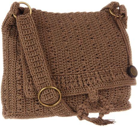 The Sak The Sak Sonora Flap Shoulder Bag in Brown (taupe