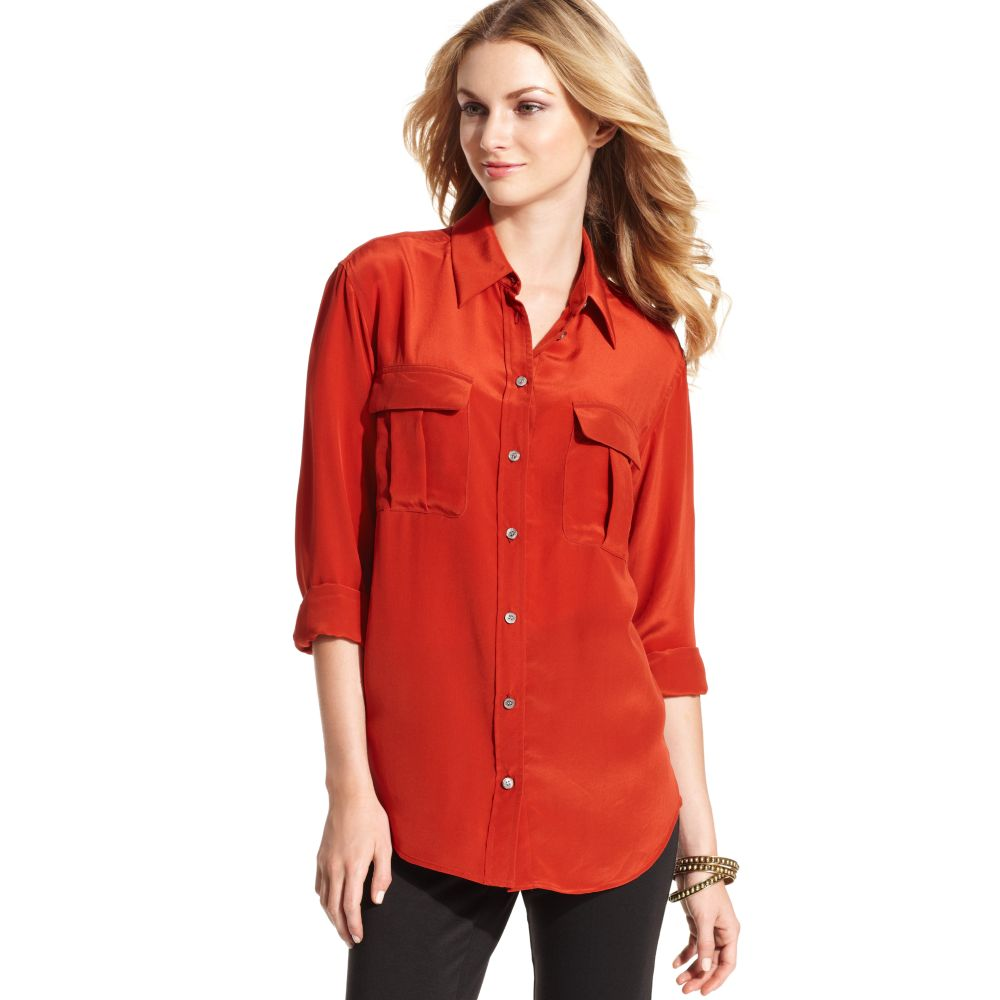 A shirt is a cloth garment for the upper body (from the neck to the waist).. Originally an undergarment worn exclusively by men, it has become, in American English, a catch-all term for a broad variety of upper-body garments and avupude.ml British English, a shirt is more specifically a garment with a collar, sleeves with cuffs, and a full vertical opening with buttons or snaps (North.