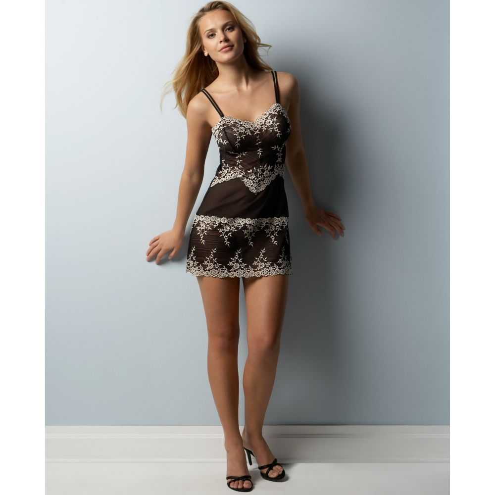 bf76905091 Lyst - Wacoal Embrace Lace in Black