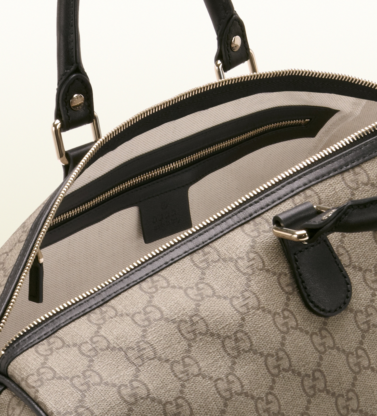 497412d482f3 Gucci Italy Gg Flag Collection Duffle Bag in Gray for Men - Lyst