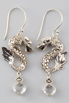 John Hardy Naga Batu Drop Earrings  - Lyst